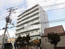 北海道札幌市豊平区水車町7丁目の賃貸マンションの外観