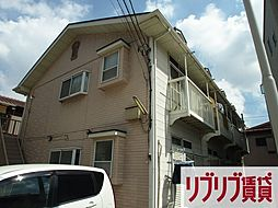 千葉県千葉市中央区寒川町1丁目の賃貸アパートの外観