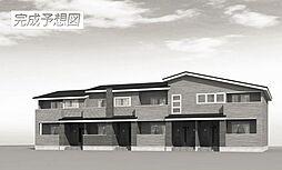 埼玉県川越市大字寺尾字中原の賃貸アパートの外観