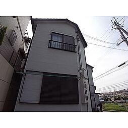 奈良県生駒市小明町の賃貸アパートの外観