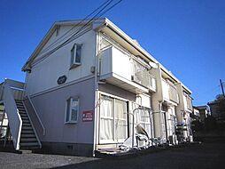 埼玉県富士見市上沢3丁目の賃貸アパートの外観