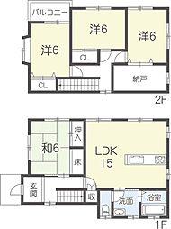一戸建て(姫路駅からバス利用、101.86m²、1,480万円)