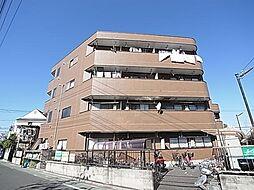 東京都足立区青井5丁目の賃貸マンションの外観