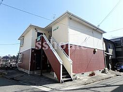 兵庫県神戸市灘区城内通1丁目の賃貸アパートの外観