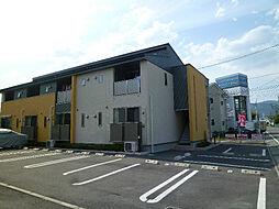 長野県岡谷市若宮2丁目の賃貸アパートの外観