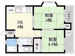 ねおらいふ3階Fの間取り画像