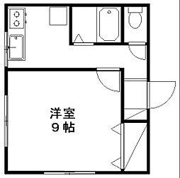 サンハウス99[2階]の間取り
