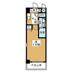 KIAORA (キオーラ)[3階]の間取り