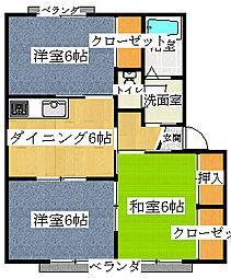 フローレンスi 2[2階]の間取り
