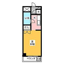 アーバン岡田[2階]の間取り