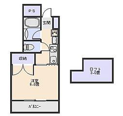 ハイセレクト[4階]の間取り