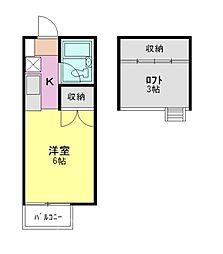 エトワール4[1階]の間取り