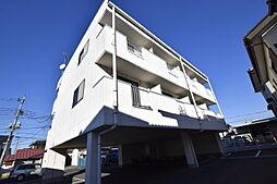 栃木県宇都宮市西原3の賃貸マンションの外観