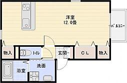 トウスケハウス[1階]の間取り