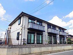 埼玉県狭山市祇園の賃貸アパートの外観