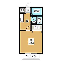 第7アーバンハイツ[2階]の間取り