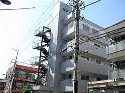 東京都墨田区文花2丁目の賃貸マンションの外観