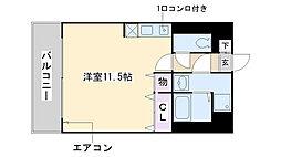 福岡県福岡市西区今宿2丁目の賃貸マンションの間取り