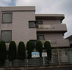 東京都中野区白鷺2丁目の賃貸マンションの外観