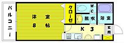 イデアハイツ5[1階]の間取り