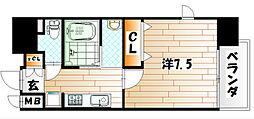 アクシオ小倉[11階]の間取り