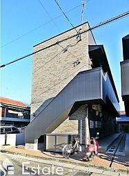 愛知県名古屋市西区南川町の賃貸アパートの外観