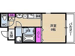 ウイルコート鶴見[2階]の間取り