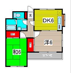 第1星野ビル[3階]の間取り