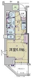 Osaka Metro千日前線 玉川駅 徒歩3分の賃貸マンション 7階1Kの間取り