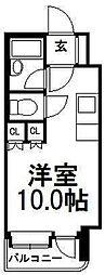 アン・セリジェ弐番館[6階]の間取り