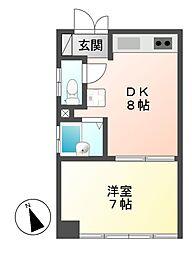第一中央ビルディング[5階]の間取り