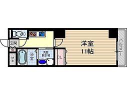フジロイヤルローズコート[6階]の間取り