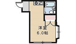 シェトワ阪南[4階]の間取り