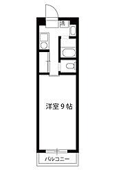 エーデルハイムサカイ[4階]の間取り