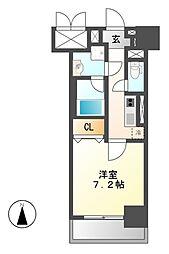 グランフルール[4階]の間取り