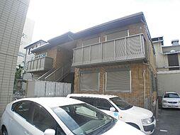 兵庫県神戸市東灘区深江北町4丁目の賃貸アパートの外観