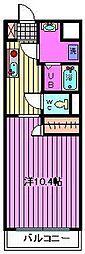 ピーノ・パラッツォ16[306号室]の間取り