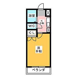 コンフォート元町[1階]の間取り