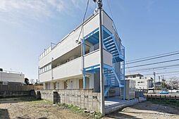 埼玉県桶川市西1丁目の賃貸アパートの外観