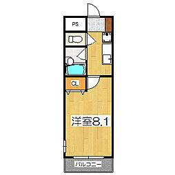パレット[2階]の間取り