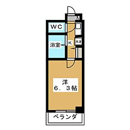 ZEST24[5階]の間取り