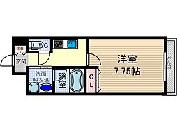 CASARTE吹田青葉丘[5階]の間取り