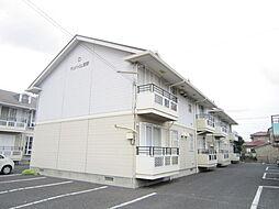 茨城県ひたちなか市笹野町3丁目の賃貸アパートの外観