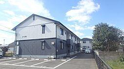 徳島県徳島市大原町の賃貸アパートの外観