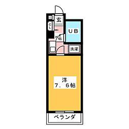 エル・エスポア御器所[1階]の間取り