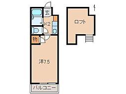 プルミエールメゾンクロダ[3階]の間取り