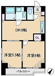 セイコーガーデン11大塚[3階]の間取り