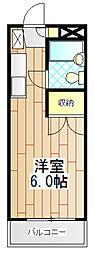 サンビレッヂ町田[103号室]の間取り
