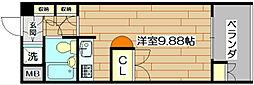Navi1[3階]の間取り