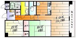 グレース昭和園[1階]の間取り